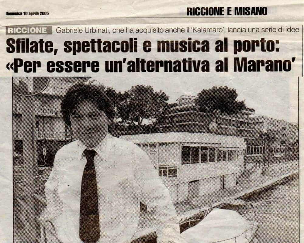 IL RESTO DEL CARLINO 2005 - Sfilate, spettacoli e musica al porto: