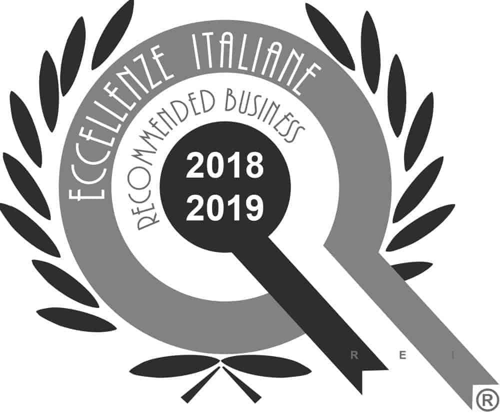 Certificato di eccellenze Italiane 2018/19